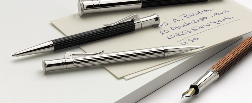 the write stuff graf von faber castell pens pencils offer luxury at your fingertips your. Black Bedroom Furniture Sets. Home Design Ideas